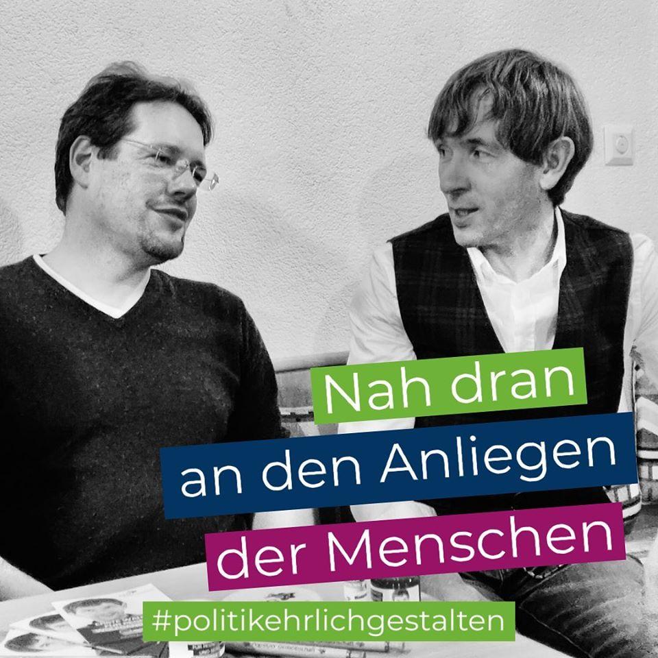 PEG Wahlkampf Stemmenreuth